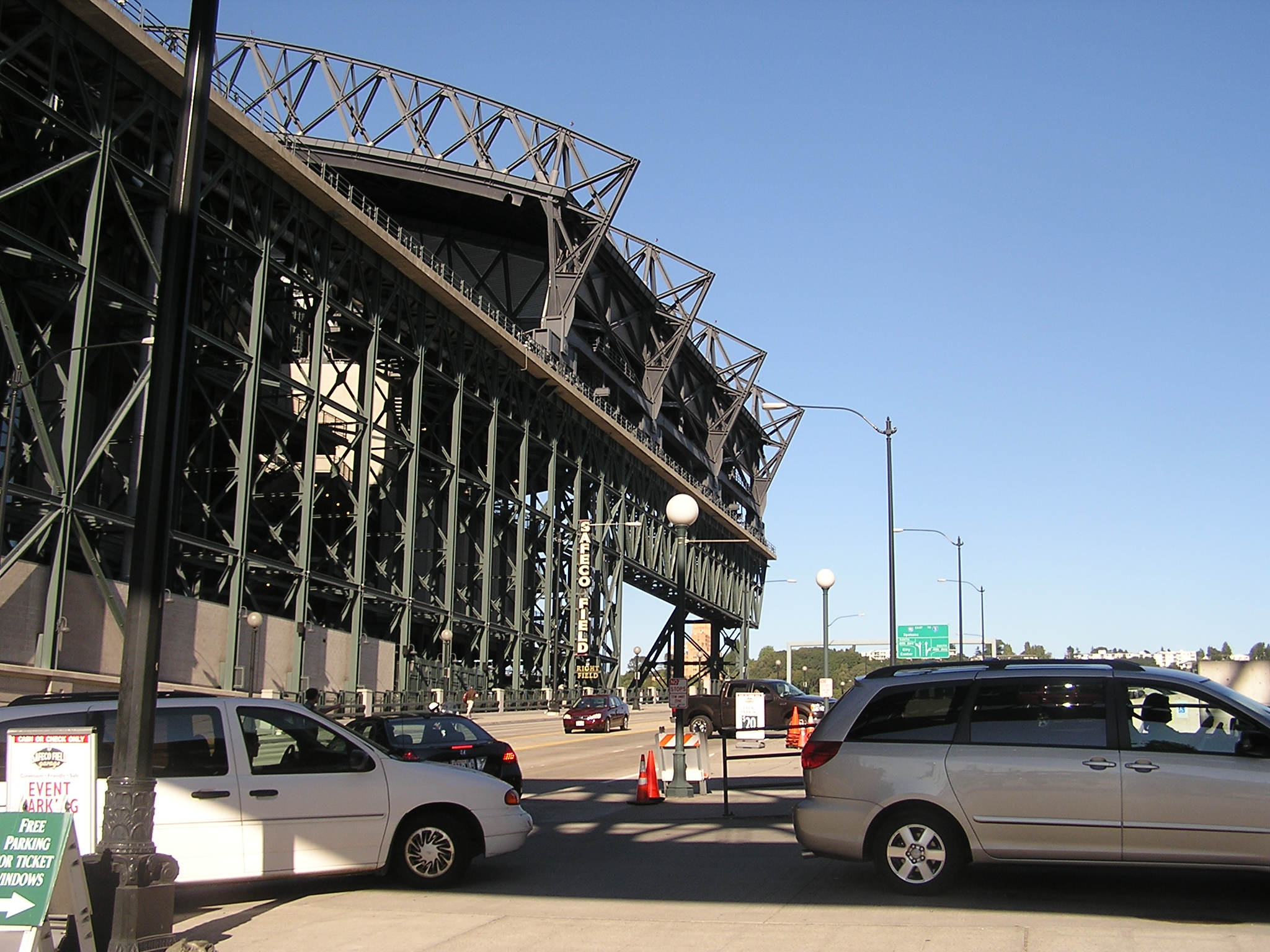 The exterioir from the RF side - Safeco Field