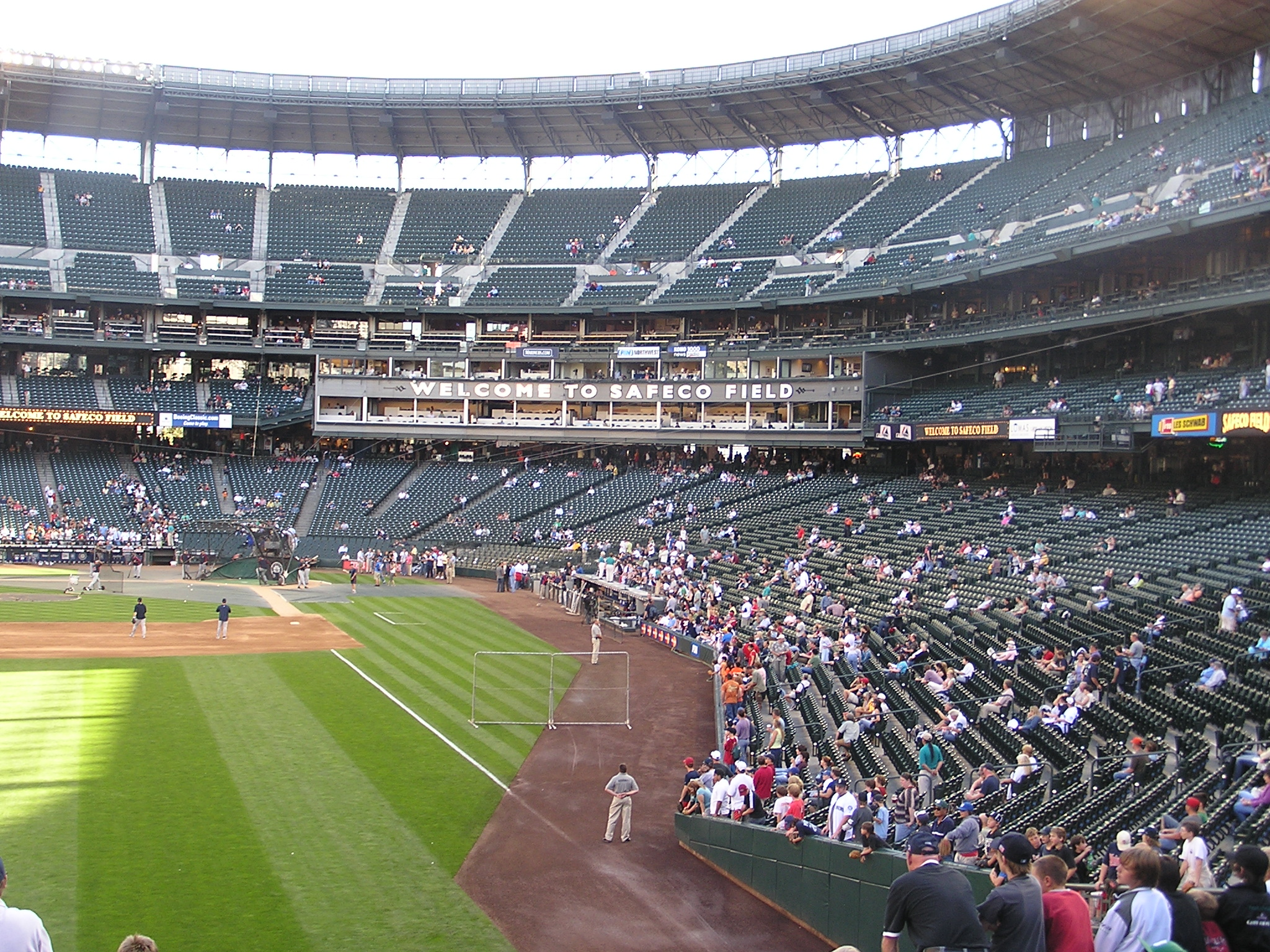 Safeco's view from Left Field, Seattle Wa.