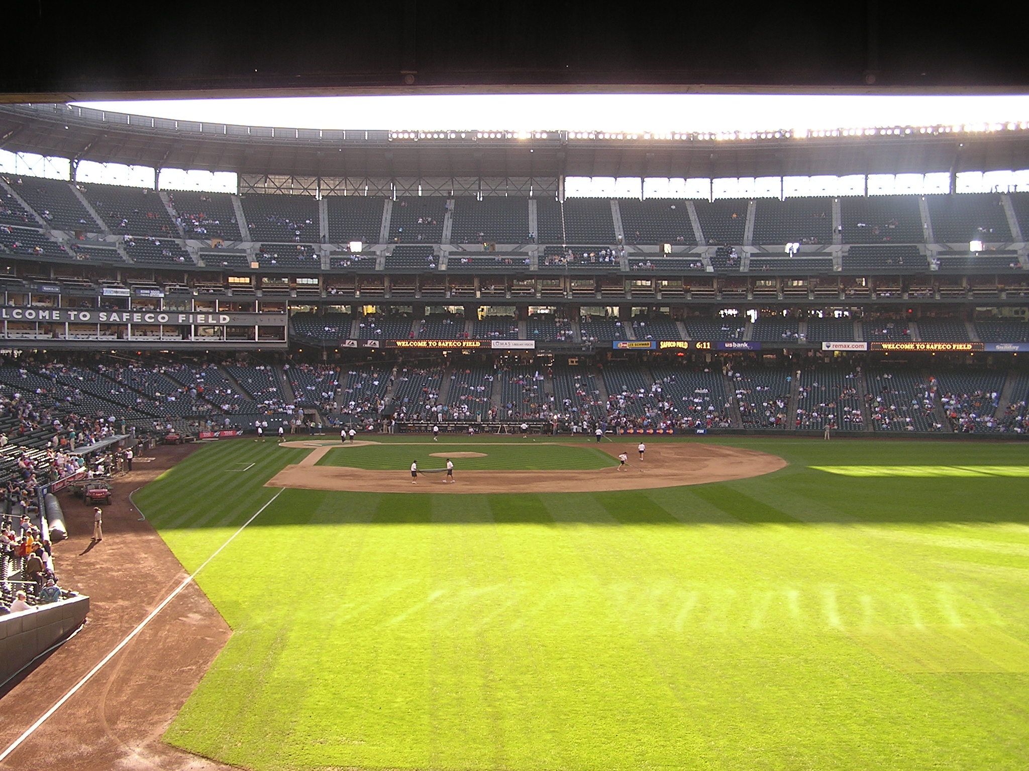 The view from Right Field - Safeco Field