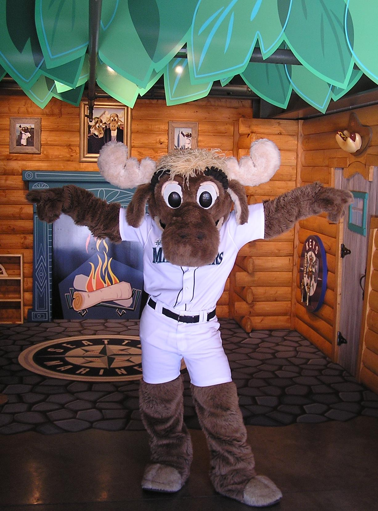 The Mariner Moose - Safeco Field, Seattle, Wa.